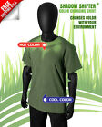 SHADOW SHIFTER DARK Color Changing T-shirt Radium Green BLOWS AWAY HYPERCOLOR