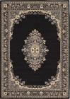 New Classic Rugs Black Carpet Traditional Persian Rug Oriental Area Rugs *Sale*
