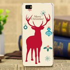Merry Christmas Painted Pattern Soft Case Cover For Samsung Galaxy Note 5 4 3 2