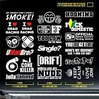 jdm stickers pack static boost dope civic lowered coupe lifestyle hybrid JDP 945