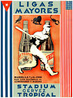83.Art Decoration POSTER.Graphics to decorate home office.Tropical Beer Baseball