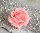 100 Foam Flowers Fake Rose Heads Wholesale For Crafts Wedding Centerpieces Decor