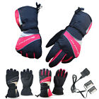 3600mAh Rechargeable Battery Heated Winter Gloves Full Fingers Hand Warm Outdoor