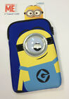 "Official Despicable Me Minions 7"" Ipad Mini Tablet Case Sleeve with Googly Eye"