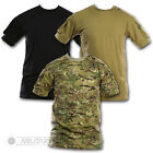 TACTICAL LIGHTWEIGHT T SHIRT SWAT MILITARY POLICE ARM POCKET VELCRO