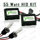 55W HID Fog Lights Xenon Light Slim Kit Plug N Play Bulb Size - H3 (B)
