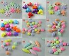 Jewelry DIY Acrylic Plastic Mixed Spacers/Beads/Charms 9style-1 G32-G40
