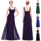 2016 Long Chiffon Formal Evening Party Ball Gown Prom Bridesmaid Dress PLUS SIZE