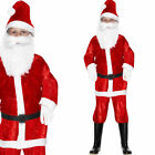 Kids Santa Costume - Childrens / Boys Christmas Fancy Dress Costume Santa Outfit