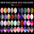 NEW & EXCLUSIVE Crystal-G UV/LED Gel Nail Polish **CHOOSE YOUR COLOURS***