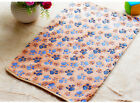 Hamsters Pad 3XColors Cat Pet Blanket Dog Mat Paw Pattern Bed Soft Coral Velvet