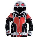 Disney Store Ant-Man Hooded Long Sleeve Costume T Shirt Movie Tee Size 4 NWT