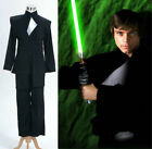 NEW Wars Luke Skywalker Return of the Jedi Cosplay Uniform Costume Black