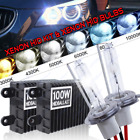 AC 100W Xenon Headlight Conversion HID Kit H1 H3 H4 H7 H8 HB4 6000K s1