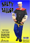 MENS Costume Fancy Dress Up HT Popeye the Sailor Man Uniform  sz S,M