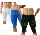 Mens Compression Sport Leggings Shorts Pants Skin Under Base Layer Tight Pants