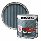 3 x 2.5L Ronseal Ultimate Decking Stain Brand New 12 Colours Avail, £19.06 Each!