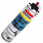 Pack PU Polyurethane Expanding Foam Gun Cleaner 500ml Solvent Spray Soudal