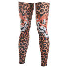 Hot Sale Bicycle Parts leopard Leg Warmers Sports UV Sun Protection leg Sleeves