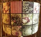 Shabby Chic Lamp Shade,lampshade Paris Patchwork French Floral Free Gift