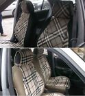 LEATHERETTE n SYNTHETIC TWO FRONT CUSTOM CAR SEAT COVERS - SELECT MODEL n COLOR