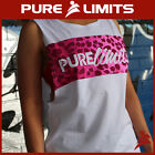 Pure Limits - Womens RESOLUTE Muscle Shirt - Pink Leopard - CrossFit WOD Fitness