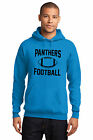New Carolina Panthers Hoodie Men's Hooded Blue Pullover Sweatshirt Size S-4XL on eBay