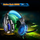 EACH G9000 USB+3.5mm Game headset Stereo Surround headphone LED with Mic for PC