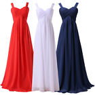 RED Long Prom Formal Gown Ball Party CocktailEvening Bridesmaid Dress PLUS SIZE
