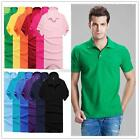 Kyпить New Men's Solid Casual Slim Fit Short Sleeve Polo Shirt T-shirts Tee Shirt Tops на еВаy.соm