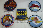 99 100 301 302ND SQUADRON TUSKEGEE AIRMEN HAT P51 PATCH US AIR FORCE RED TAIL