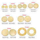 50pcs Unplated Flat Round Circle Blank Stamping Charms Jewelry Making Discs
