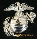 SILVER/GOLD US MARINES CORPS EAGLE GLOBE ANCHOR HAT PIN UP EGA FMF USS MCAS USMC