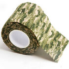 5cm x 4.5m Kombat Army Camo Wrap Rifle Gun Hunting Camouflage Stealth Tape
