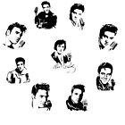 Elvis Presley Vinyl Decal Sticker Car Window Laptop Art American Idol Legend
