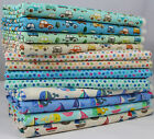 CT Novelties Stars Cars Boats Whales 100% Cotton Japanese Fabric for kids