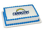 San Diego Chargers NFL football image cake topper frosting sheet #4637 $11.7 USD on eBay