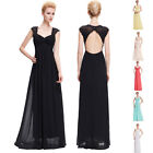 Maternity Long Maxi Evening Prom Party Formal Masquerade Ball Gown Wedding Dress
