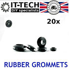 20 x Isolation Hole Rubber Grommets for 5 6 7 8 9 10 12 15 mm Cable Wiring Rings