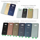 New Glass Battery Cover Rear Back Door For Samsung Galaxy S6 S7 Edge Plus Note 5