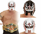 Adult Boys Wrestling Mask Mexican Lucha Rey Cross Wrestler Masked Latino Belt