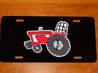IH INTERNATIONAL PULLER Tractor LICENSE PLATE on BLACK or WHITE Aluminum Plate