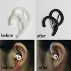 Silicone Sport Earhook Clip Loop Wire/Cable Hanger for Earphone headse Flat wire