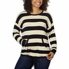 New Womens KENSIE FRENCH TERRY CREW NECK PULLOVER SHIRT You Pick Size