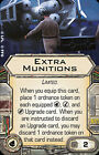 Star Wars X-Wing Miniatures Game - Upgrade Cards WEAPONS, BOMBS & TECH