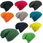 Slouch Knitted Winter Beanie Cap Hat in 10 Colours