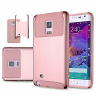 For Samsung Galaxy Note Edge Hybrid Rubber Tuff Hard Protective Matte Case Cover