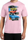 Mens Competitor Tee Dodge 74 Challenger Trio Shirt