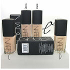 NARS Sheer Glow Liquid Foundation *10 Shades* Light Medium Dark Face 30ml BNIB