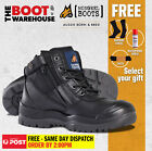Mongrel 461020 Work Boots. Steel Toe Safety. Zip. Scuff Cap.  FREE GIFT OPTION!